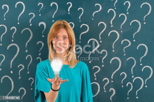 184960675 istock photo Asking and Solution Concept 175409740