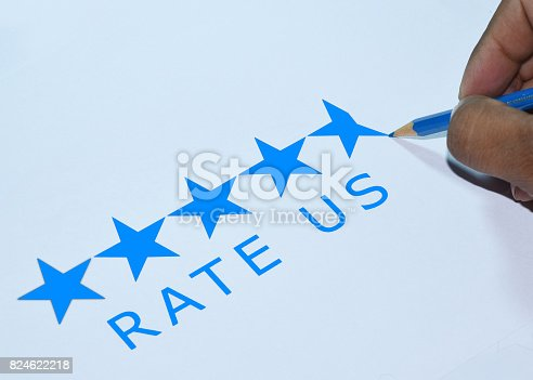 Asking for 5 star ratings from customer