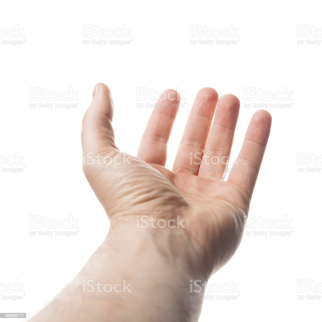 asking for help stock photo