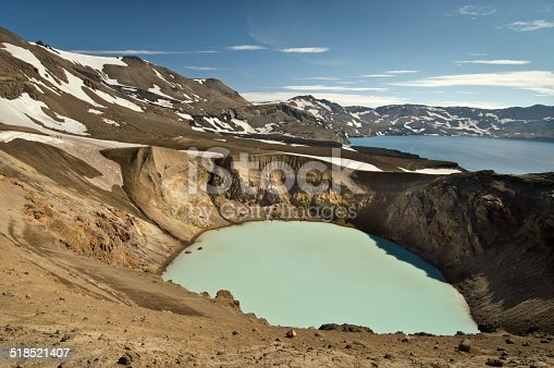 istock Askja volcanoe, Iceland 518521407