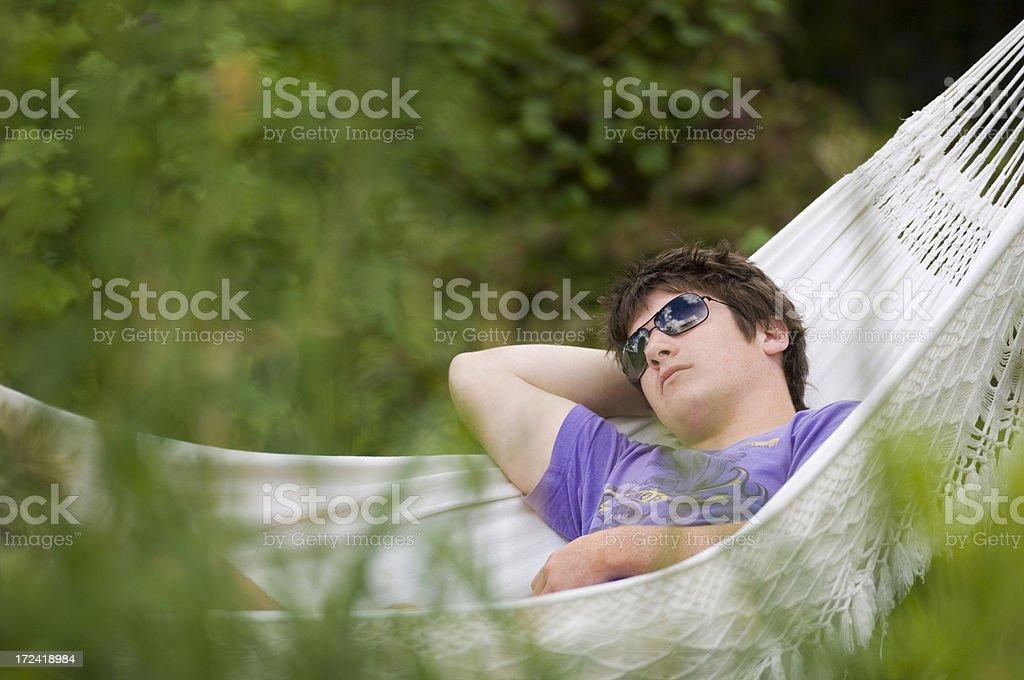 Asleep royalty-free stock photo