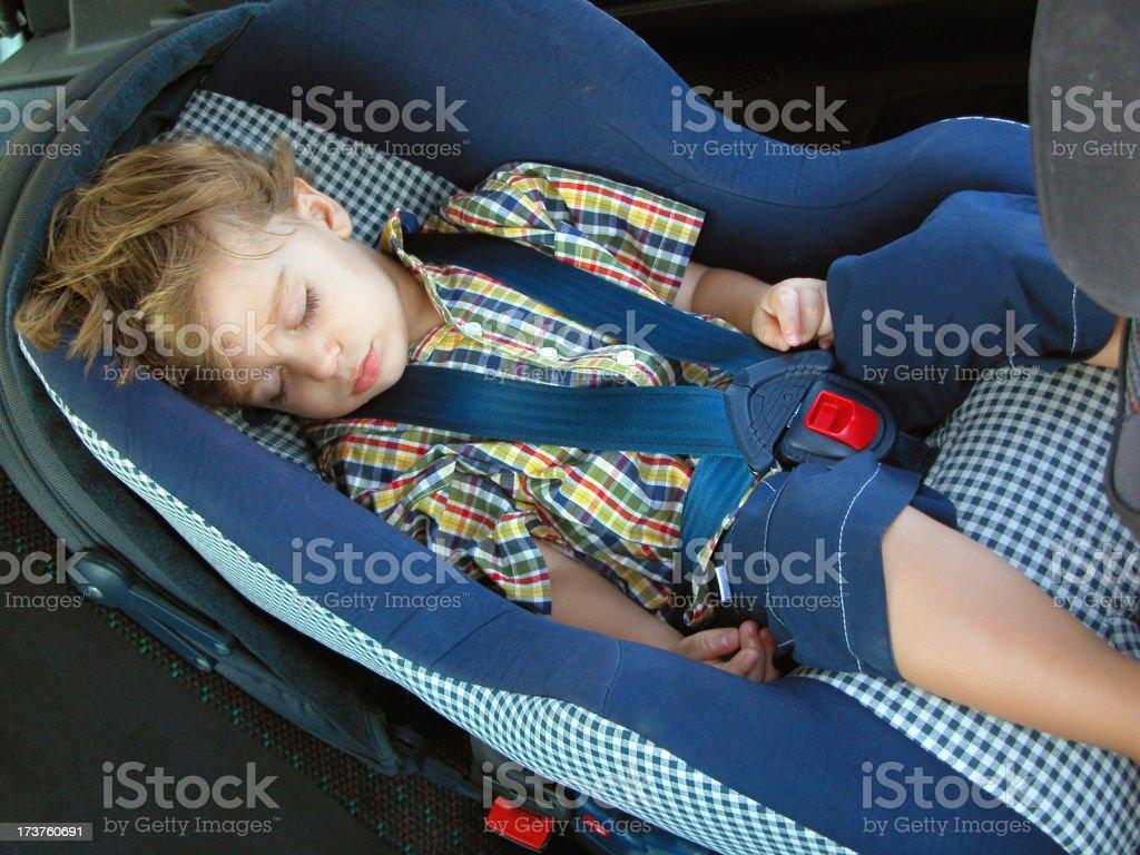 Asleep Safley royalty-free stock photo