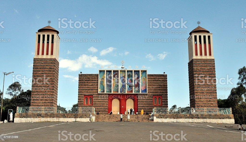 Asmara, Eritrea, Ortodox church stock photo