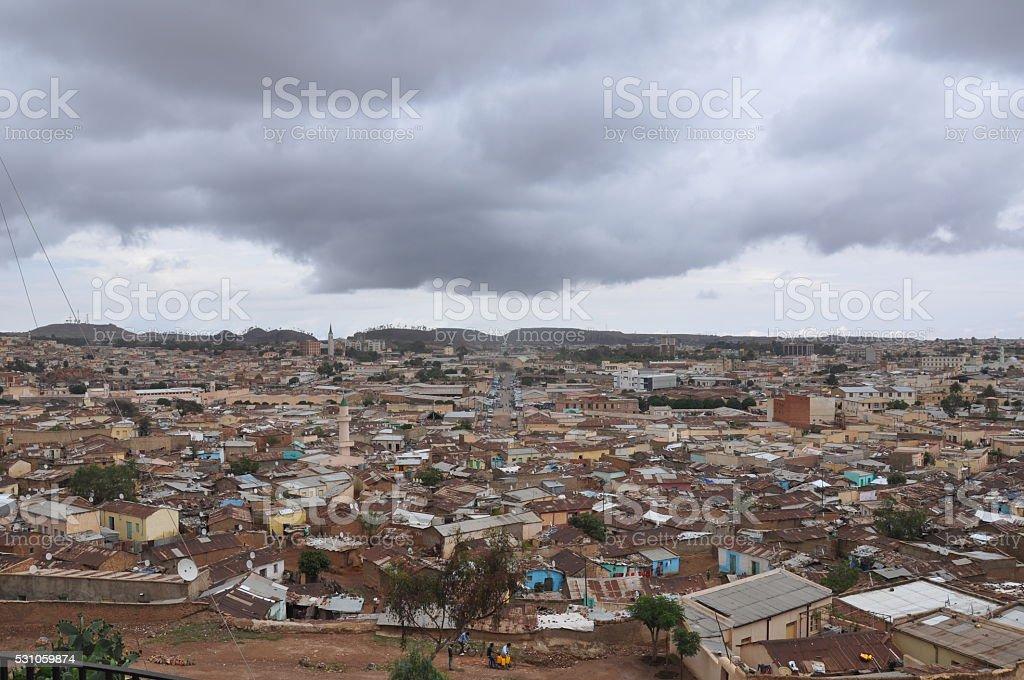 Asmara, Eritrea stock photo