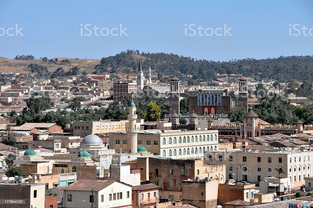 Asmara stock photo
