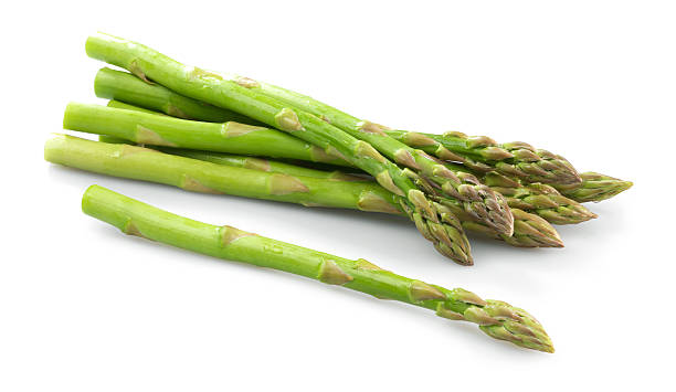 Asparagus bunch stock photo