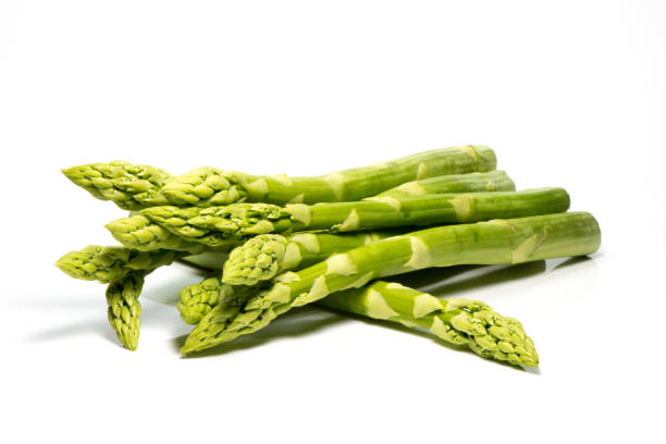 asparagus bunch - asparagus stock pictures, royalty-free photos & images