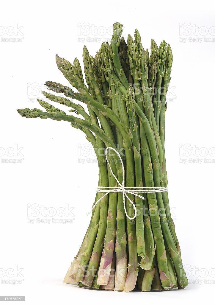 asparagus bundle royalty-free stock photo