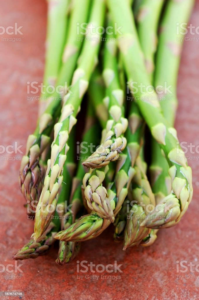 asparagus fresh royalty-free stock photo