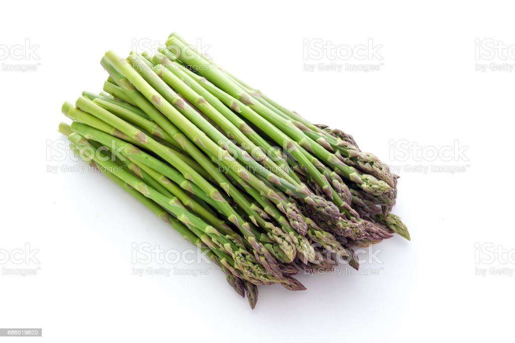 Asparagus of Altedo Italy foto stock royalty-free