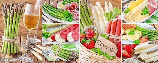 istock Asparagus regional and seasonal food and wine 1125120356