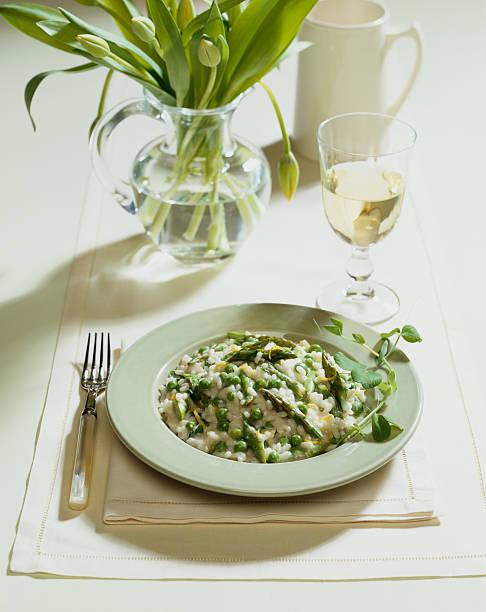 Spargel-Risotto – Foto