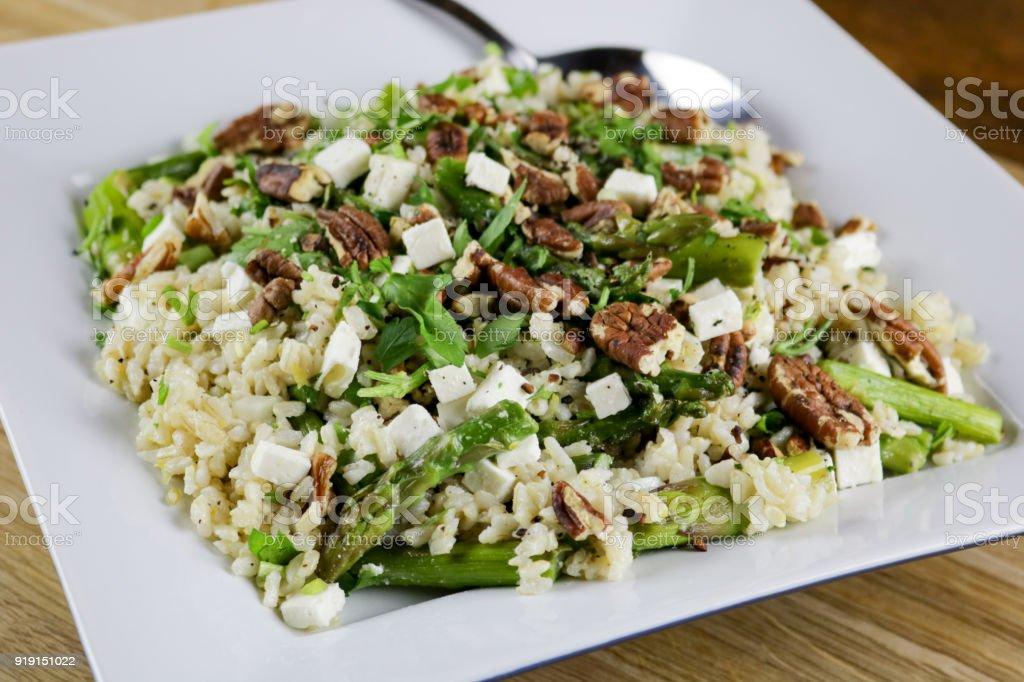 Asparagus Salad stock photo