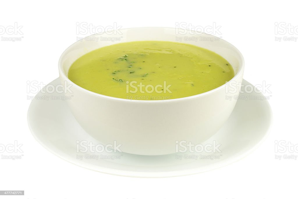 Asparagus Soup royalty-free stock photo
