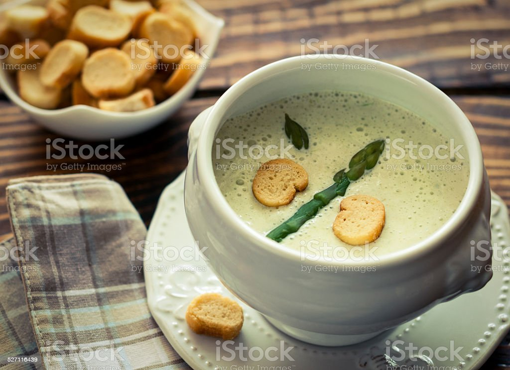 Spargel-Suppe – Foto