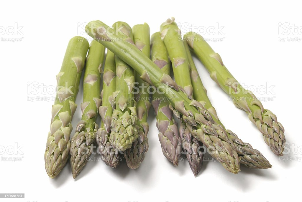 asparagus spears royalty-free stock photo