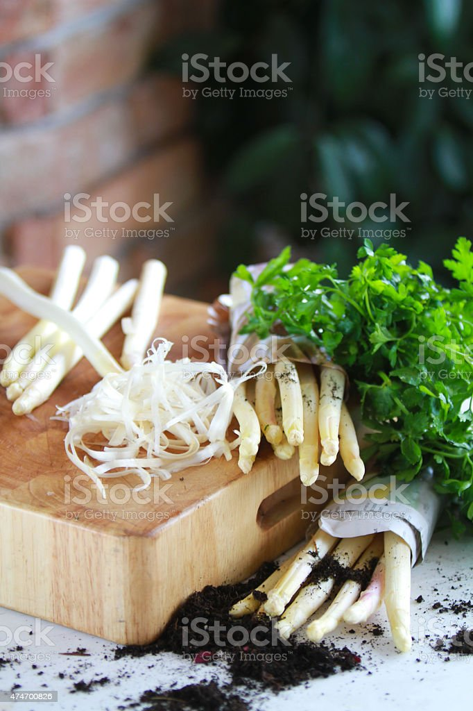 aspargus stock photo
