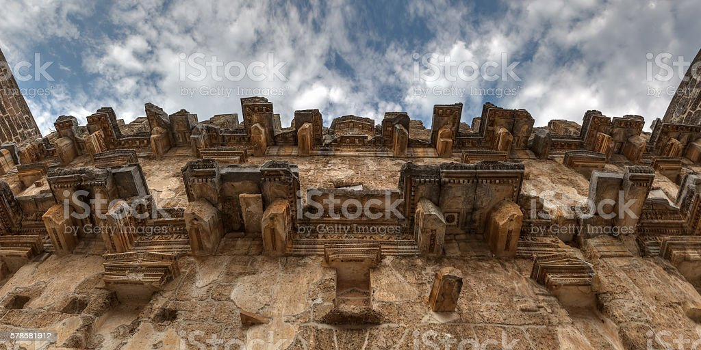 Aspendos amphitheater Antalya Turkey stok fotoğrafı