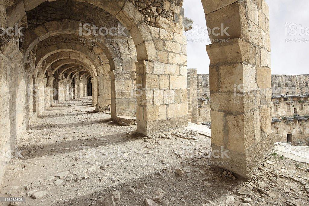 Aspendos, Antalya, Turkey stok fotoğrafı