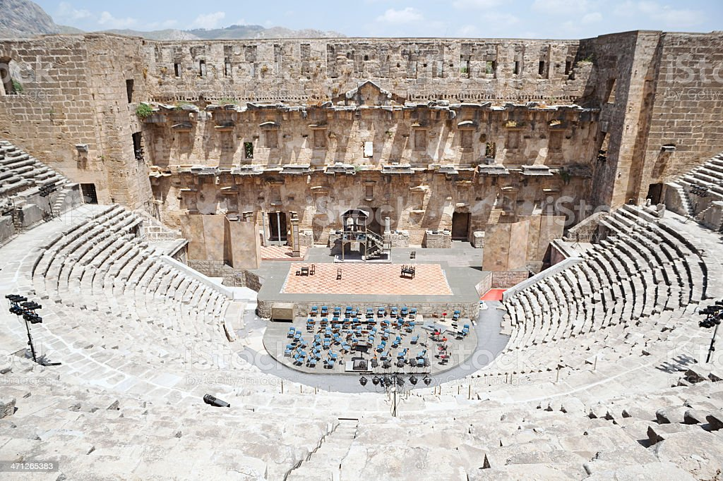 Aspendos  Antalya  Turkey stock photo