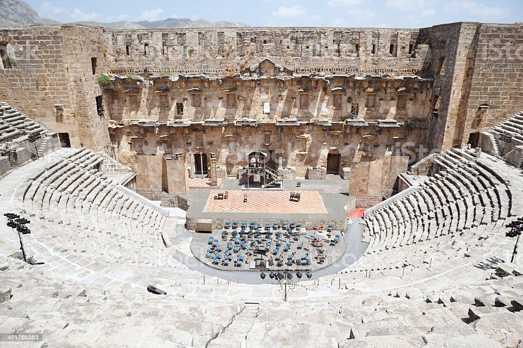 Aspendos  Antalya  Turkey stok fotoğrafı