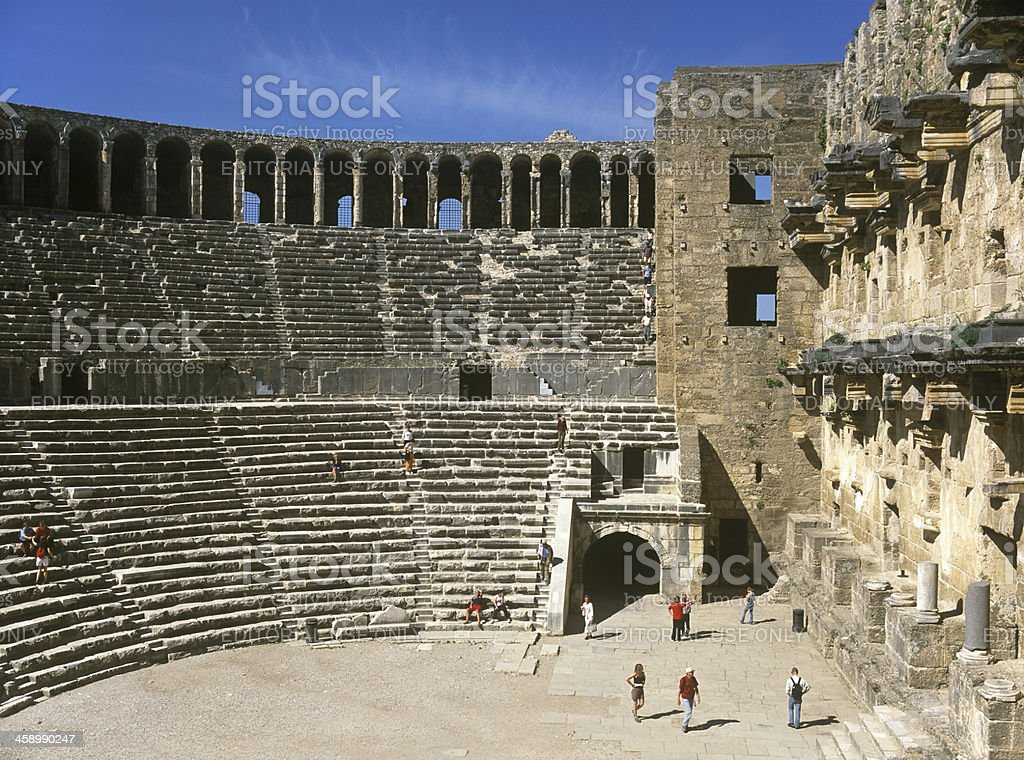 Aspendos stok fotoğrafı