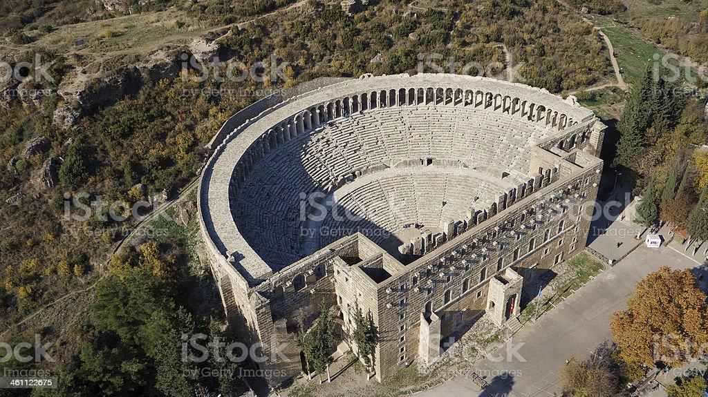 Aspendos Theater stok fotoğrafı