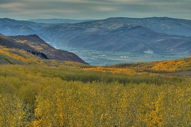 Trembles de la HDR Heber Valley-Photo - Photo