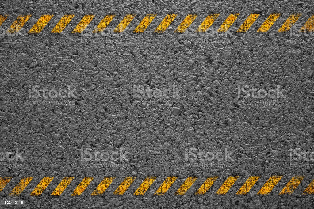 Asphalt background texture with some fine grain with road stock photo