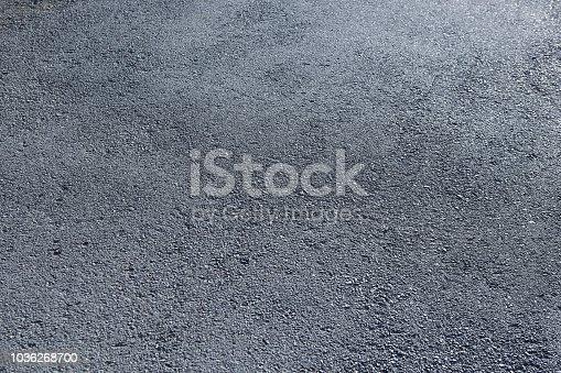 asphalt road surface close up background