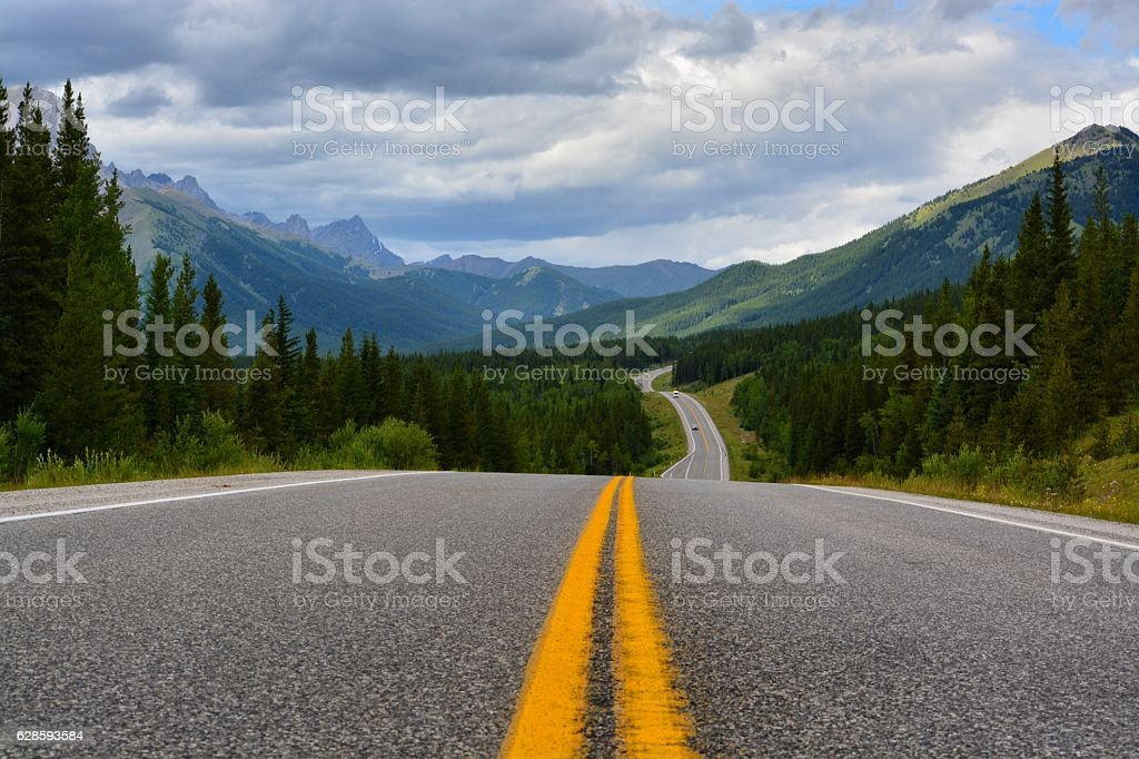 Asphalt Paths stock photo
