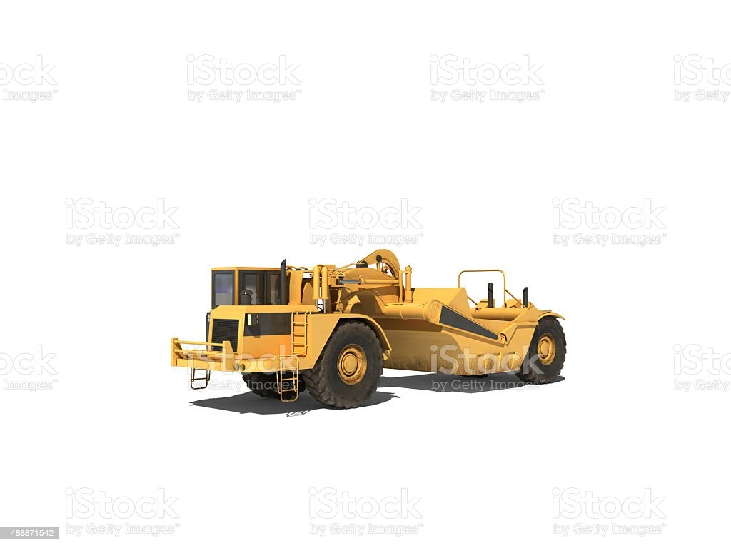 Asphalt Paving Machine stock photo