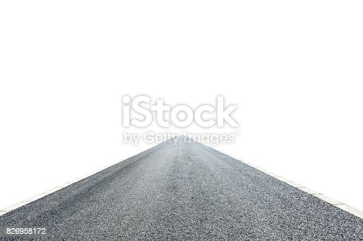 621693226istockphoto Asphalt road texture on white background,front view 826958172