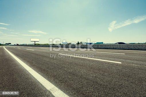 621693226istockphoto Asphalt road under the blue sky 636508282