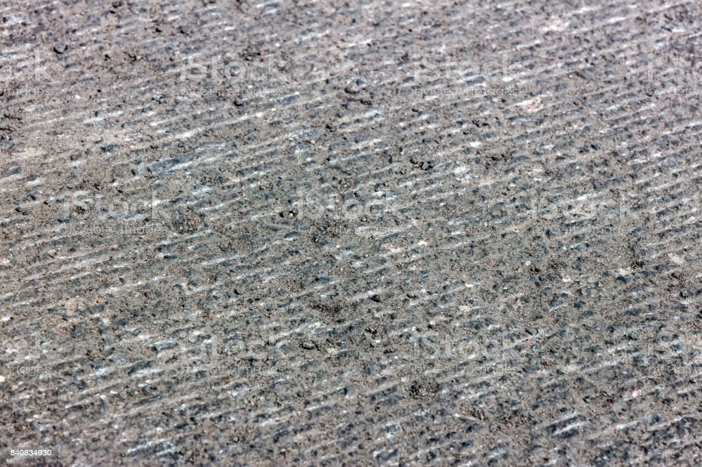 asphalt road with removed surface stock photo