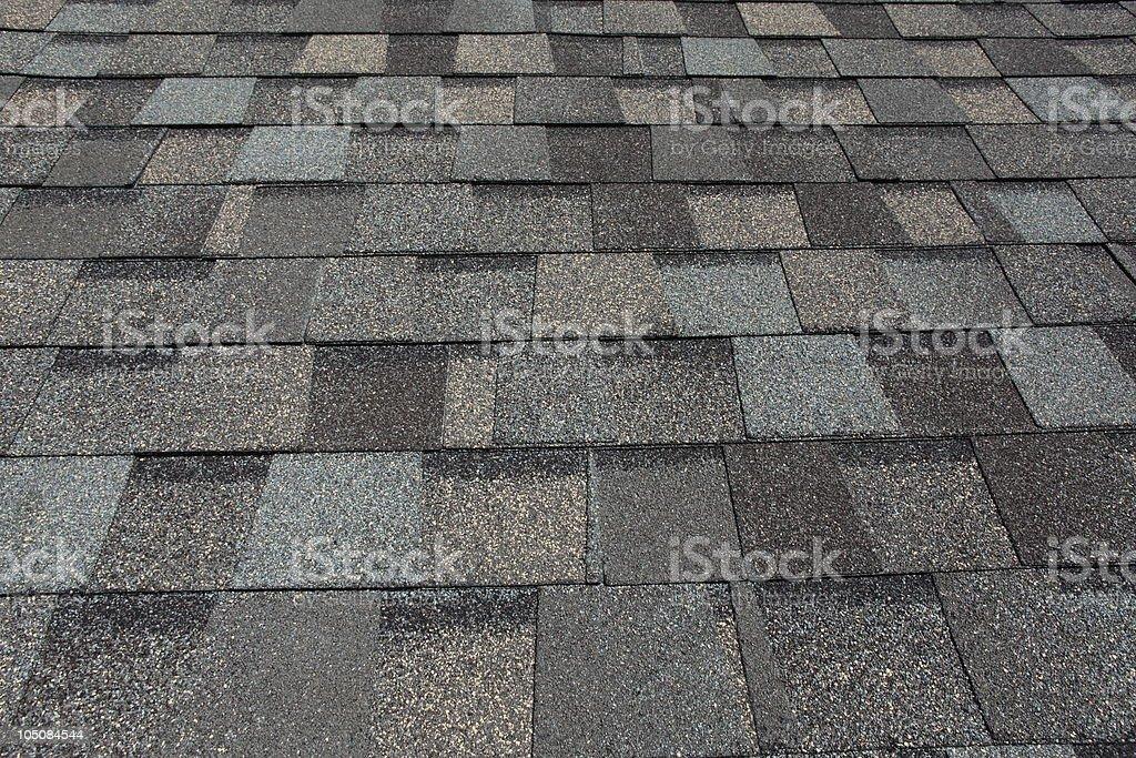 Asphalt Roofing Shingles stock photo