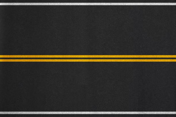fondo de textura de asfalto  - vía fotografías e imágenes de stock