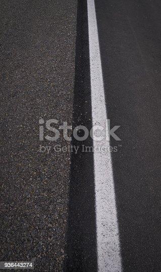 istock Asphalt track background texture 936443274
