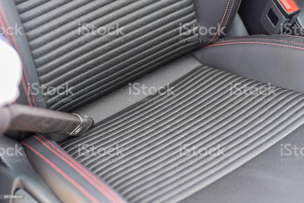 Aspirating car. stock photo