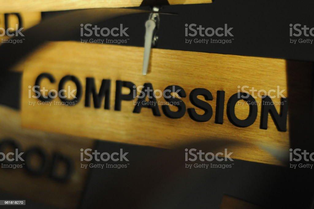 Aspirations word stock photo