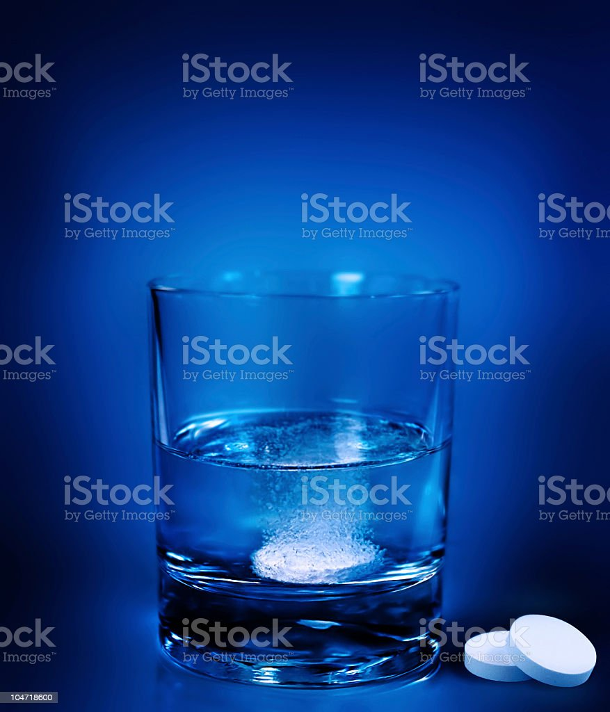 aspirin royalty-free stock photo