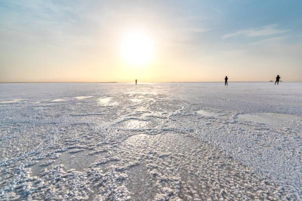 Ass Ale lake, Danakil depression - foto stock