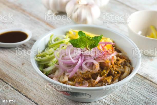 Foto de Comida De Assam Laksa Penang e mais fotos de stock de Almoço