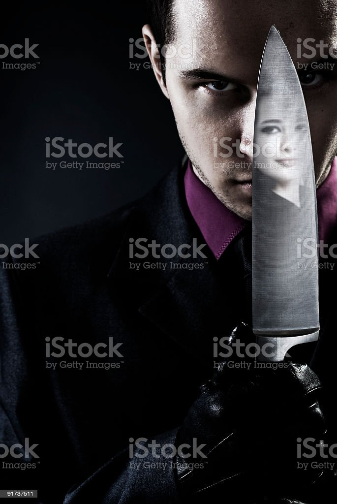 Assassin stock photo