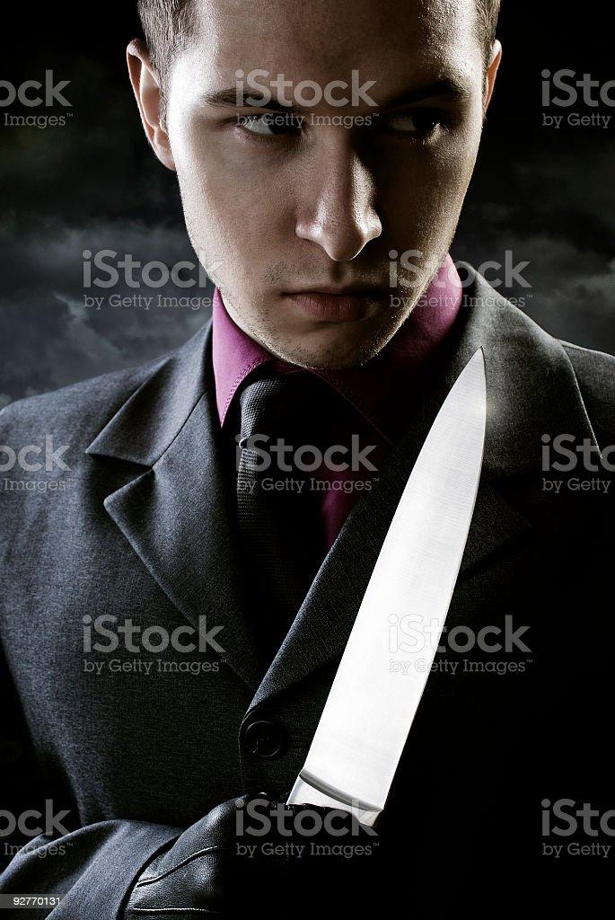 Killer Lizenzfreies stock-foto
