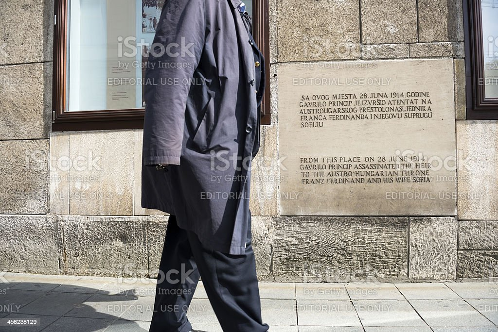 Assassination Of Archduke Ferdinand Location In Sarajevo