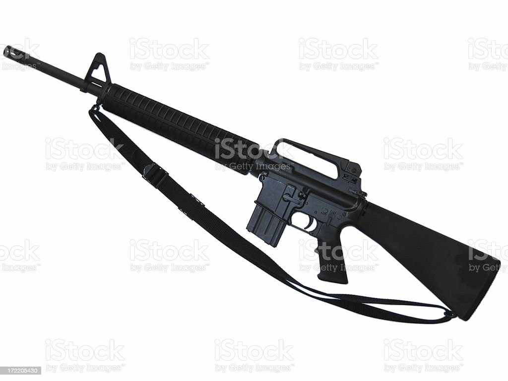 M16 Assault Rifle stock photo
