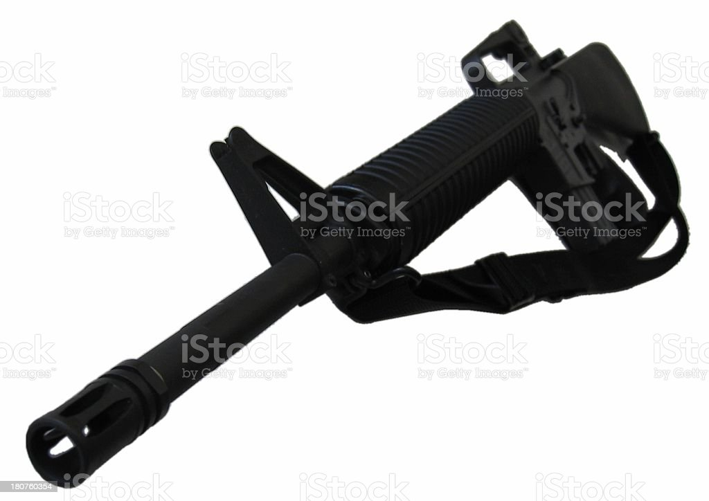 Assault Rifle royalty-free stock photo