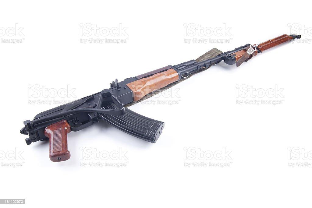 Assault rifle royalty-free stock photo