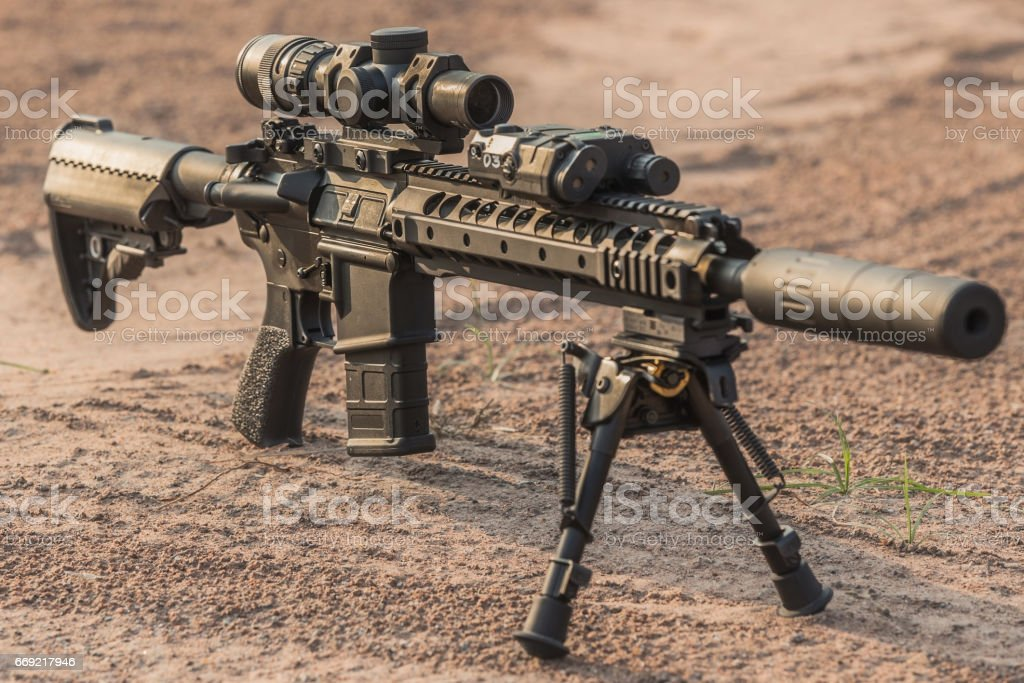Assault Rifle Stock Photo Istock